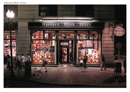 Harvard Book Store Custom Postcard